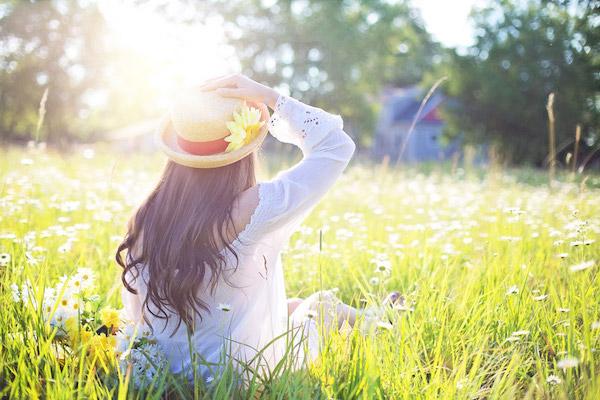 花粉対策 帽子