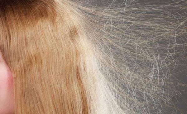 静電気 髪 花粉